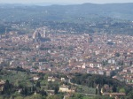 view from Fiesole to the north